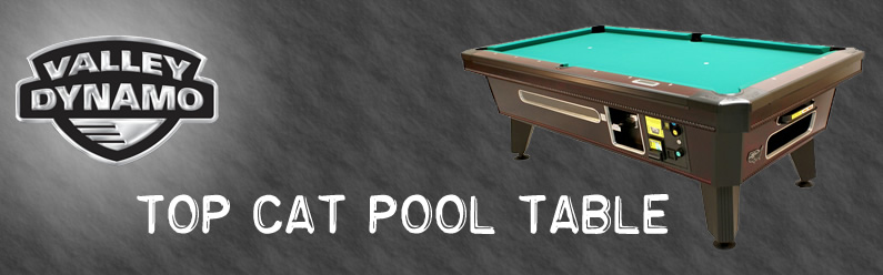 Top Cat Pool Table